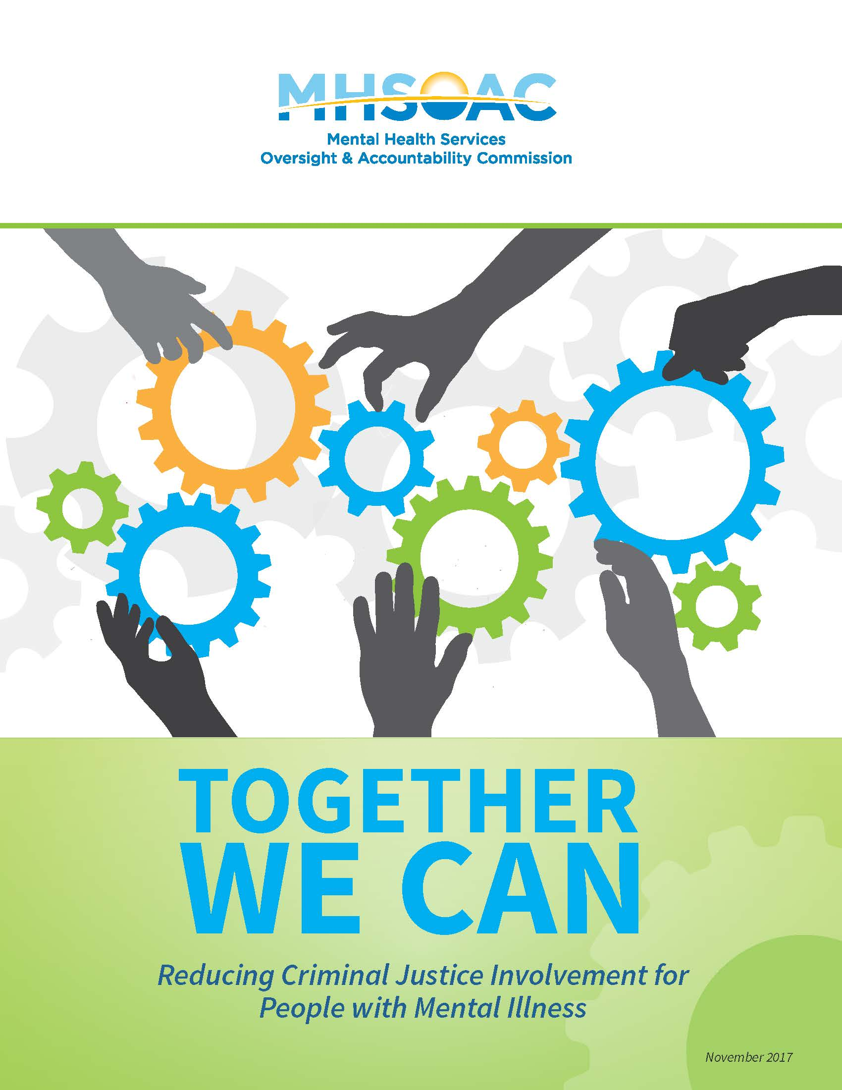 Together We Can - Reducing Criminal Justice Involvement for People with Mental Illness Cover